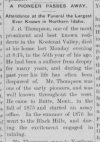 Thompson, J. B. 1837 - 1892